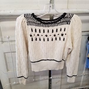 Liz Claiborne Collection 4P Silk Blend Sweater VTG